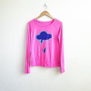 Xhilaration : Pink Storm Cloud Sleep Top Medium